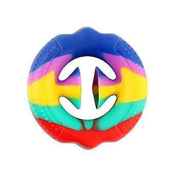 1PCS Stress Relief Snapper Fidget Toy Silicone Hand Grip Sensory Toy toy para niños y adultos