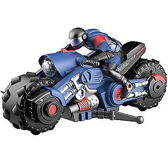 RC Stunt Auto Motorrad elektrische 360 Grad Drift Racing Motorrad junge Spielzeug für Kinder Xmas(Blau)