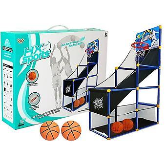 Support de basket 142 cm - dont 2 ballons de basket