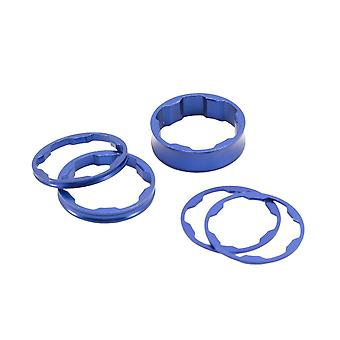 """Box Two Stem Spacer 1 1/8"""" - Blue - 1 1/8"""""""