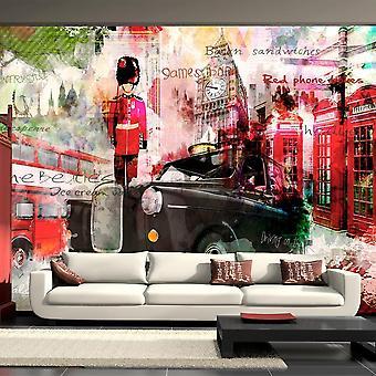 Papel de Parede - Ruas de Londres