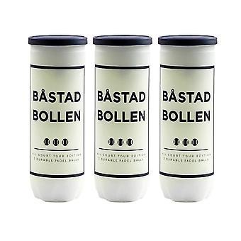 Båstad Bollen, 3x Tube Padelballs - All Court Tour Edt