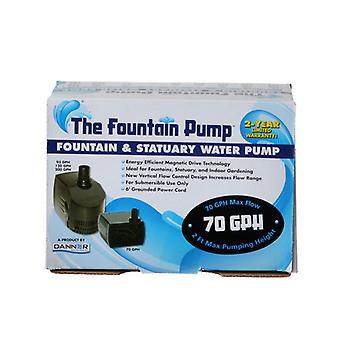 Danner Fountain Pump Magnetic Drive Submersible Pump - SP-70 (70 GPH) with 6' Cord