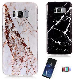 Samsung Galaxy S8 - Shell / Bescherming / Marble