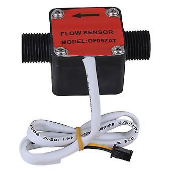 مأخذ الحائط يتحكم في أجهزة الاستشعار الحمراء g1/2 السائل تدفق زيت الوقود معدات استشعار آلة التبديل مقياس تدفق متر