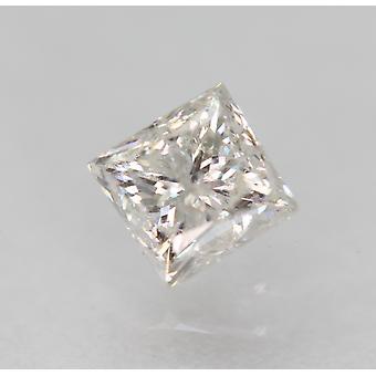 معتمد 0.46 قيراط D SI2 الأميرة تعزيز الماس الطبيعي 3.94x3.82mm 2VG