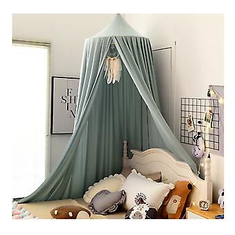 Bed Canopy Curtain For Kids Baby Bed, Round Dome Kids Indoor  Cotton