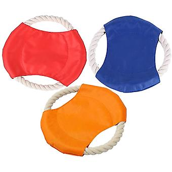 Frisbees For Dogs 3 Pieces Frisbees Dogs Toys Pet Dog Flying Discs Throwing Toy Interactive Dog Toy For Small Dogs, Large Dogs And Puppies
