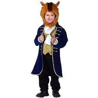 Kids Beast Costume Halloween Cosplay Party Prince Dress Up