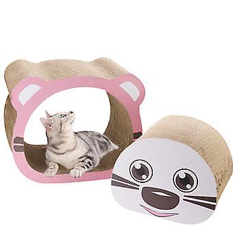 Cat Scratcher Lounge Cardboard Cat Scratcher House