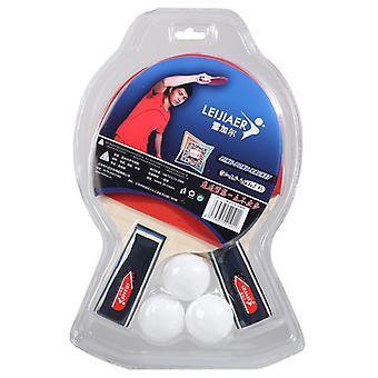 Racchetta da ping pong Due racchette Set racchette da tre palline