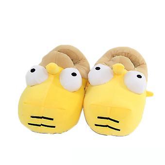 Simpsons Grappige Pluche Slippers Warme Winter Indoor Anime Slippers Gratis Maat 28cm