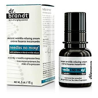 Dr. Brandt Needles No More Instant Wrinkle Relaxing Cream - 15g/0.5oz