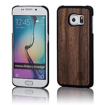 32nd Wooden Back case for Samsung Galaxy S6 Edge Plus (SM-G928) - Walnut