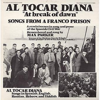 Max Parker - en la rotura del amanecer: importación de Estados Unidos canciones desde una prisión de Franco [CD]