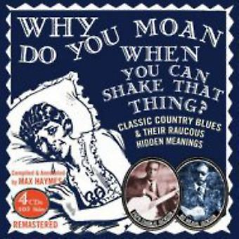 Papa Charlie Jackson - Why Do You Moan when You Can Shake That [CD] USA import