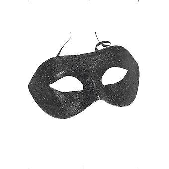 Gino øye maske svart glitter