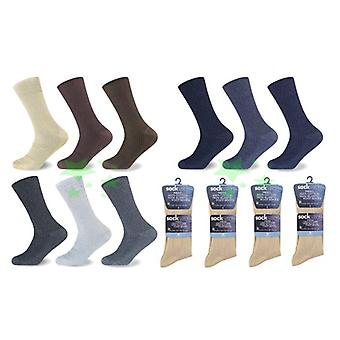 12 paires Big foot 100 % coton chaussettes coq Mens UK 10-13 taille Every Day Socks