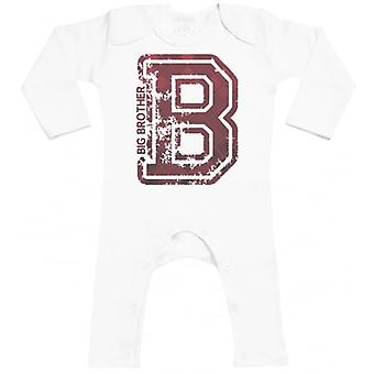 Spoilt råtten Big Brother Baby Footless Romper