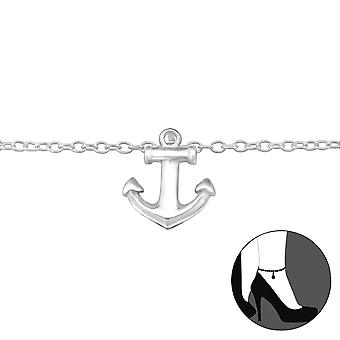 Anchor - 925 Sterling Silver Anklets - W29973X
