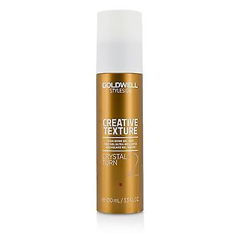 Goldwell Style Sign Creative Texture Crystal Turn 2 High-shine Gel Wax - 100ml/3.3oz