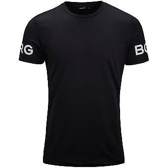 Bjorn Borg Hydro Pro Active T-Shirt, Black Beauty