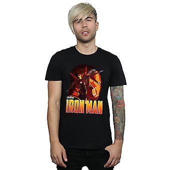 Marvel mænds Avengers Infinity krigen jern mand karakter T-Shirt