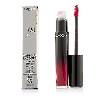 Lancome L ' Absolu lak, som bygges & forstærker; Farve Longwear læbe farve-# 188 kun dig-8ml/0,27 Oz