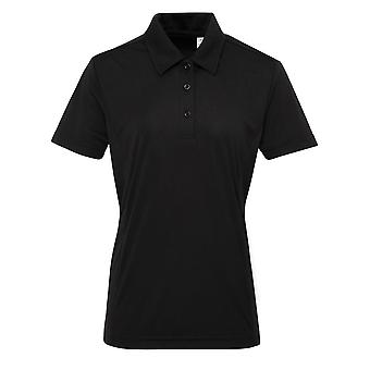 Tri Dri Ladies Panelled Tridri Polo Shirt