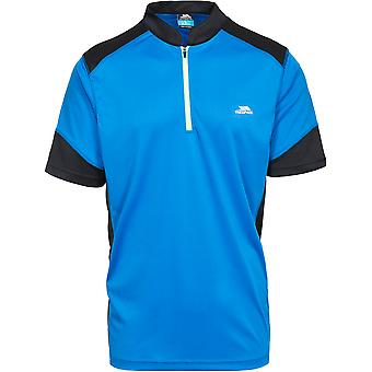 Trespass Mens Dudley Moisture Wicking Quick Dry Cycling Top