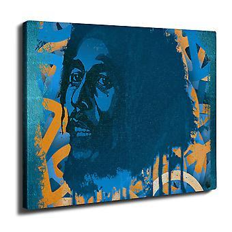 Marley 42 julkkis Wall Art Canvas 40 cm x 30 cm | Wellcoda