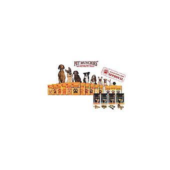 المأكولات الخفيفة الحيوانات الأليفة الكلب يعامل التدريب الكبد والدجاج 150 غ