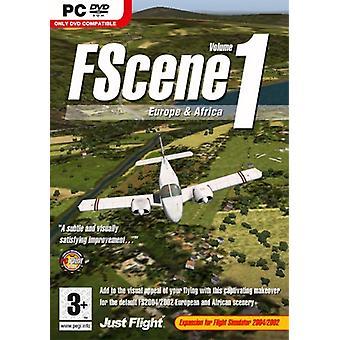 FScene Vol 1 - Eurooppa Afrikka (PC DVD) - Uusi