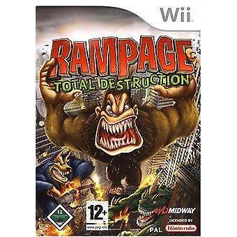 Rampage total förstörelse (Wii)-fabriken förseglad