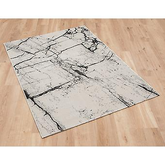 Marble 37201 622 Grey  Rectangle Rugs Modern Rugs