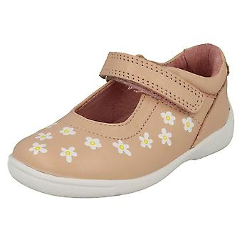 Girls Startrite Casual Flat Shoes Shine - Pink Leather - UK Size 6G - EU Size 23 - US Size 7