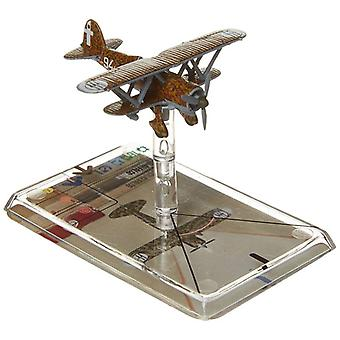 Wings of Glory Expansion Rinaldi Fiat CR-42 Falco Scale Model