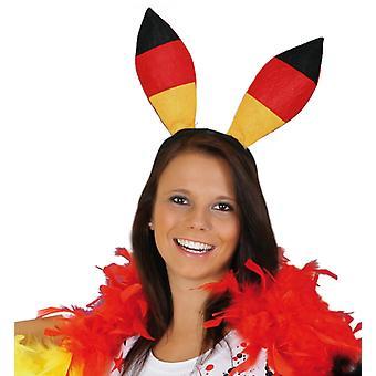 Bunny ører fan Tyskland fodbold VM Tyskland champion bunny ører tilbehør