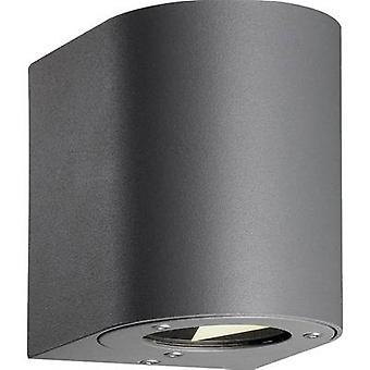 Nordlux Canto 77571010 LED ulkona seinälle 10 W lämmin valkoinen vaaleanharmaa
