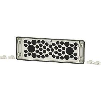 Flange Eaton FL4-D com alimentador de cabo (L x W x H) 23 x 329 x 116 mm Cinza 1 pc(s)