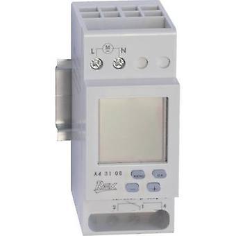 REX Zeitschaltuhren A43108 DIN rail mount timer 230 V