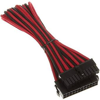 Bitfenix Current Cable extension [1x ATX power socket 24-pin. - 1x ATX power socket 24-pin.] 30.00 cm Red, Black
