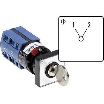 Kraus & Naimer CG4 A220-600 FS2 V750D/2J Changeover switch 10 A 1 x 60 ° Grey, Black 1 pc(s)