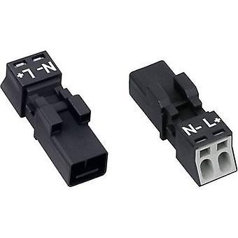WAGO Netzstecker WINSTA MINI-Serie (Netzanschlüsse) WINSTA MINI Stecker, gerade Gesamtzahl der Pins: 2 16 A White 1 PC(s)