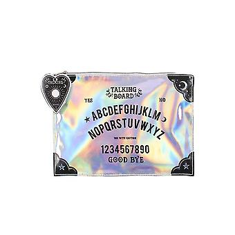 Attitude Clothing Iridescent Makeup Pouch