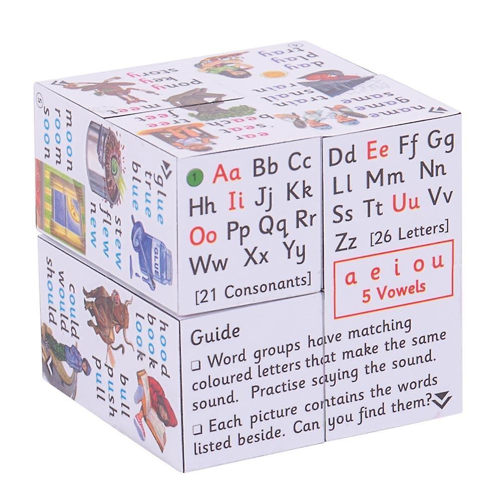 ZooBooKoo Educational KS1 Spellings Cubebook Learning Resource Home School