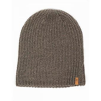 Fjallraven Ovik Melange Beanie Hat - Mountain Grey