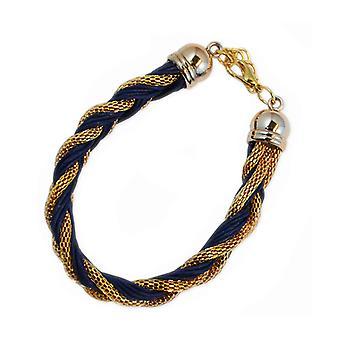 Armband Ø goud blauw
