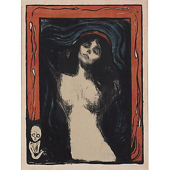 Madonna, Edvard Munch, 60,5 x 44,2 cm