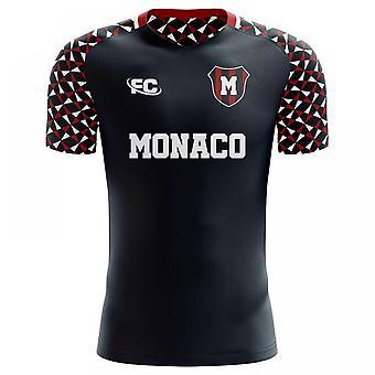 2018-2019 Monaco Fans kultur bort konceptet skjorta